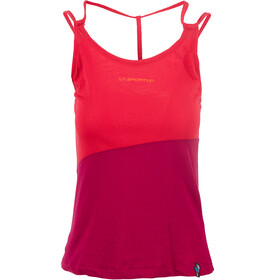 La Sportiva Think Sleeveless Shirt Women red/purple